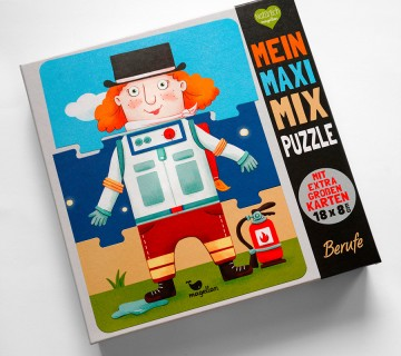 Mein Maxi Mix Puzzle Berufe