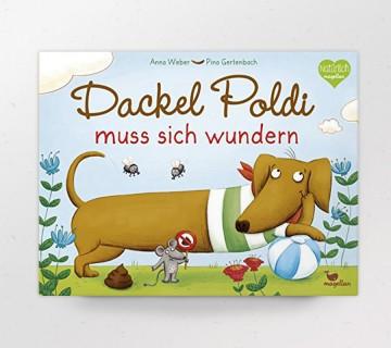 Dackel Poldi muss sich wundern
